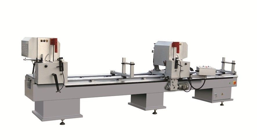 Double Head Mitre Saw Window and Door Machinery for Aluminum Profile,Aluminum Window Machine