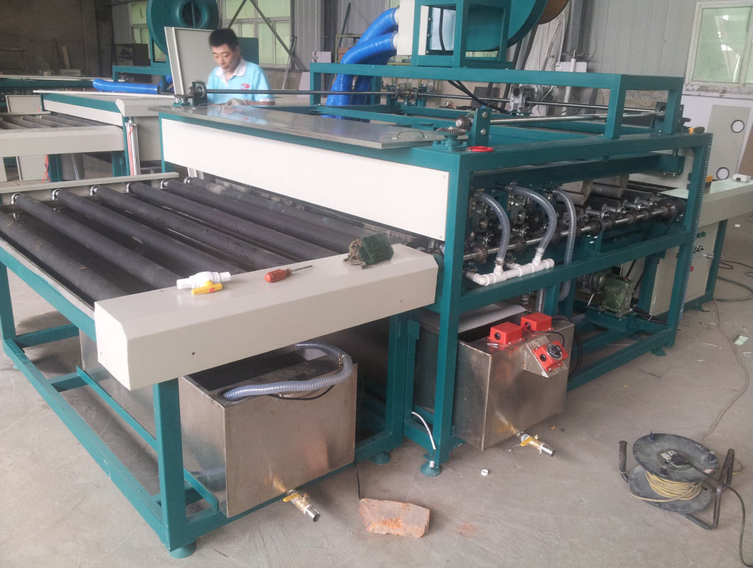 380V 50Hz Horizontal flat glass washer for Insulating Glass Production Line