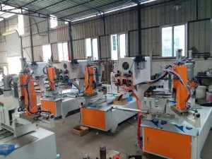 Double Head Pneumatic Automatic Glass Corner Grinding Machine,Automatic Glass Corner Grinding Machine,Pneumatic Glass Corner Polishing Machine