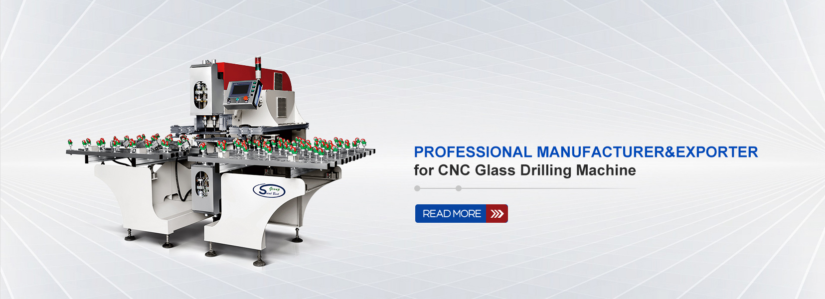 Professional MANUFACTURER&EXPORTER  for CNC Glass Drilling Machine