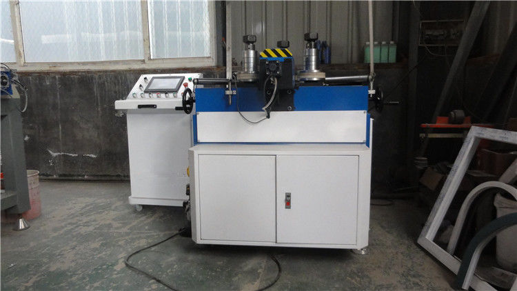 Double Servo CNC Aluminum Profile Roll Bending Machine / Aluminum Profile Bending Machine with CNC