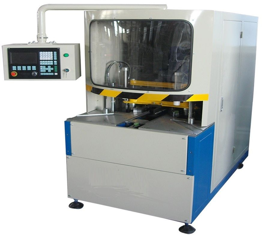 380V 50Hz Vinyl UPVC Window Machine CNC Corner Cleaning Machine 100mm Width