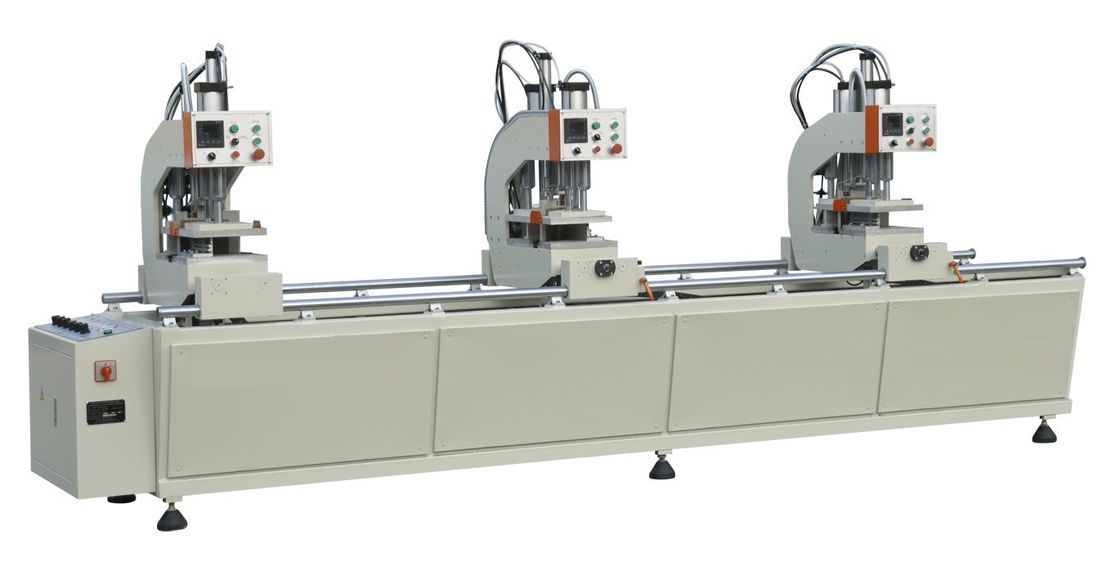 Double Side Auto UPVC Window Machine Three Head Seamless Welding Machine