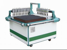 Double Bridges Manual Glass Cutting Machine With Glass Breaking Energy Saving,Manual Glass Cutting Table