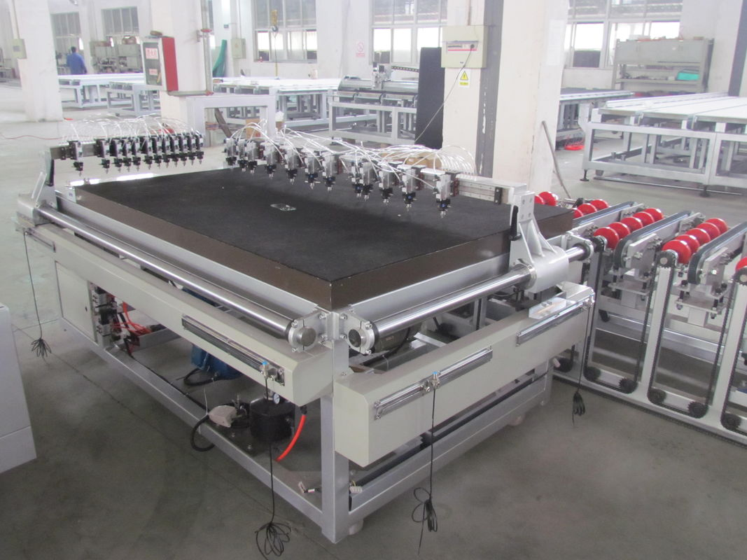 High Cutting Speed Glass Cutting Machine with Breaking Function,Automatic Mosaic Glass Roller Breaking Machine