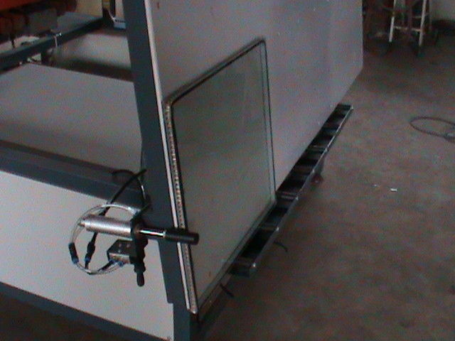 Power 50Hz Hot Press Table for Warm Edge Spacer Double Glazing