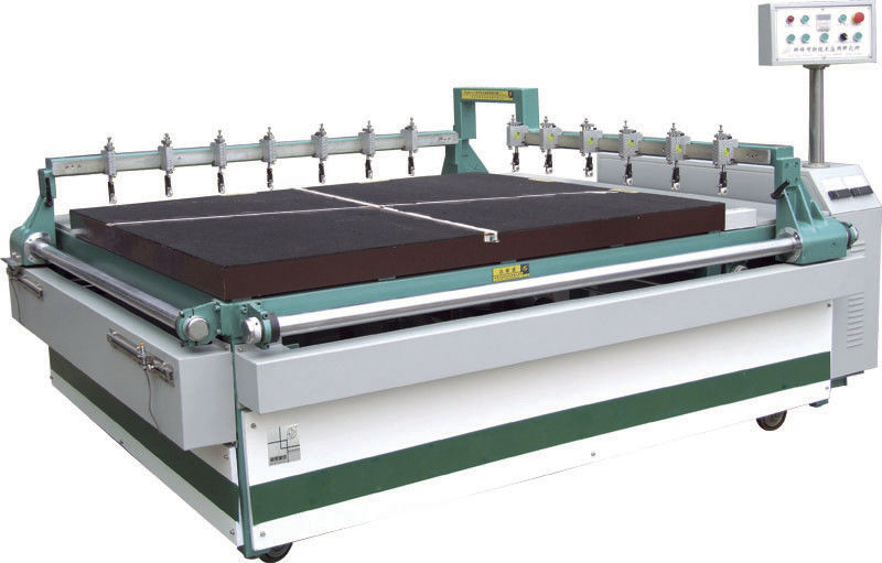 Laminated Glass Cutting Machine High Density Air Float Table 3660x2440mm