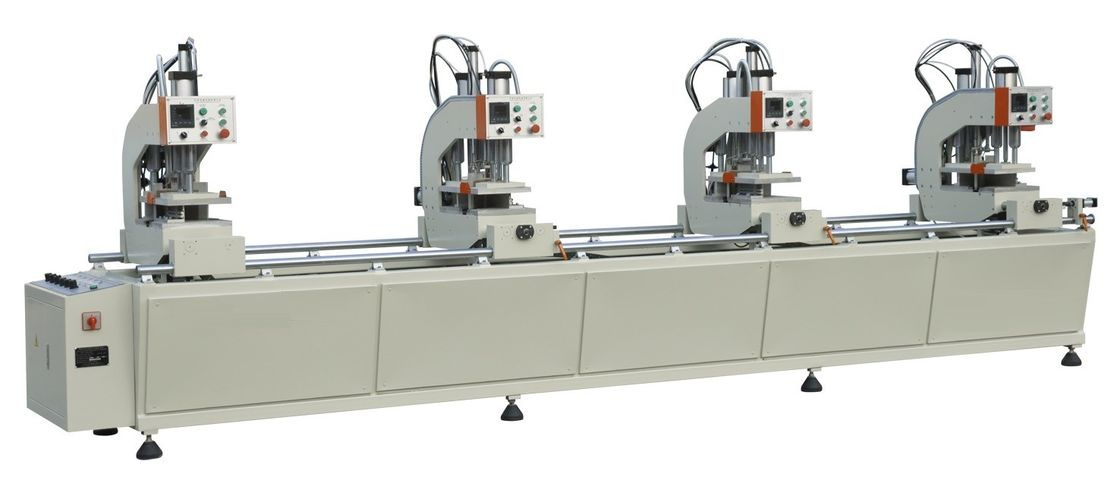 High Precision UPVC Window Machine Double Side PVC Processing Equipment