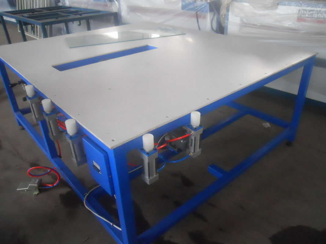 Warm Edge Spacer Air Float Application Table Warm Edge Spacer System