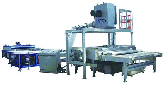 Insulating Glass Production Line for Warm Edge Spacer 5 Pairs Rollers,Flexiable Spacer Double Glazing Production Line