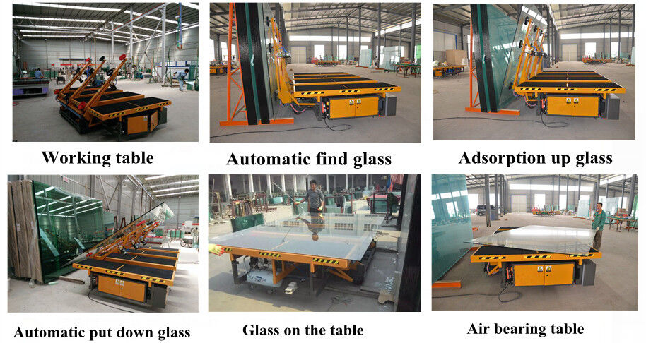 CE Approval Automated Glass Loading Machine 2~19mm Thickness,Automatic Glass Loading Machine