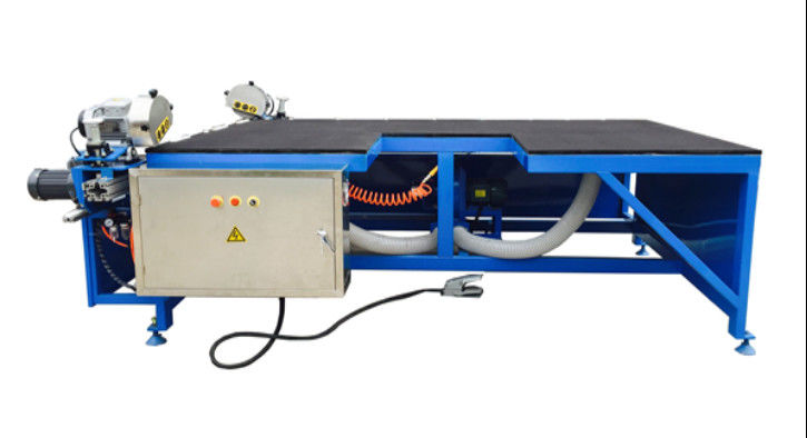 Horizontal Dual Head Low – E Glass Edge Deletion Machine , Low-e Glass Edge Remover,Low-e Glass Edge Deleting Machine