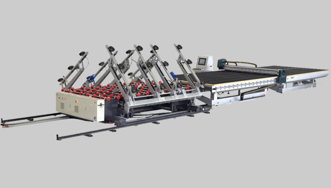 CNC Automatic  Glass Cutting Line for Insulating Glass,CNC Glass Cutting Line,CNC Glass Cutting Machine,Glass CNC Cutter