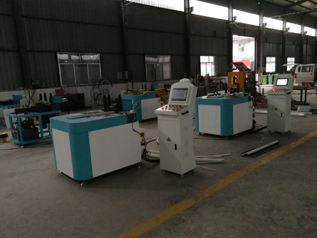 CNC Roll Bending Machine for Aluminum Window / Bus Window Frame Forming Machine