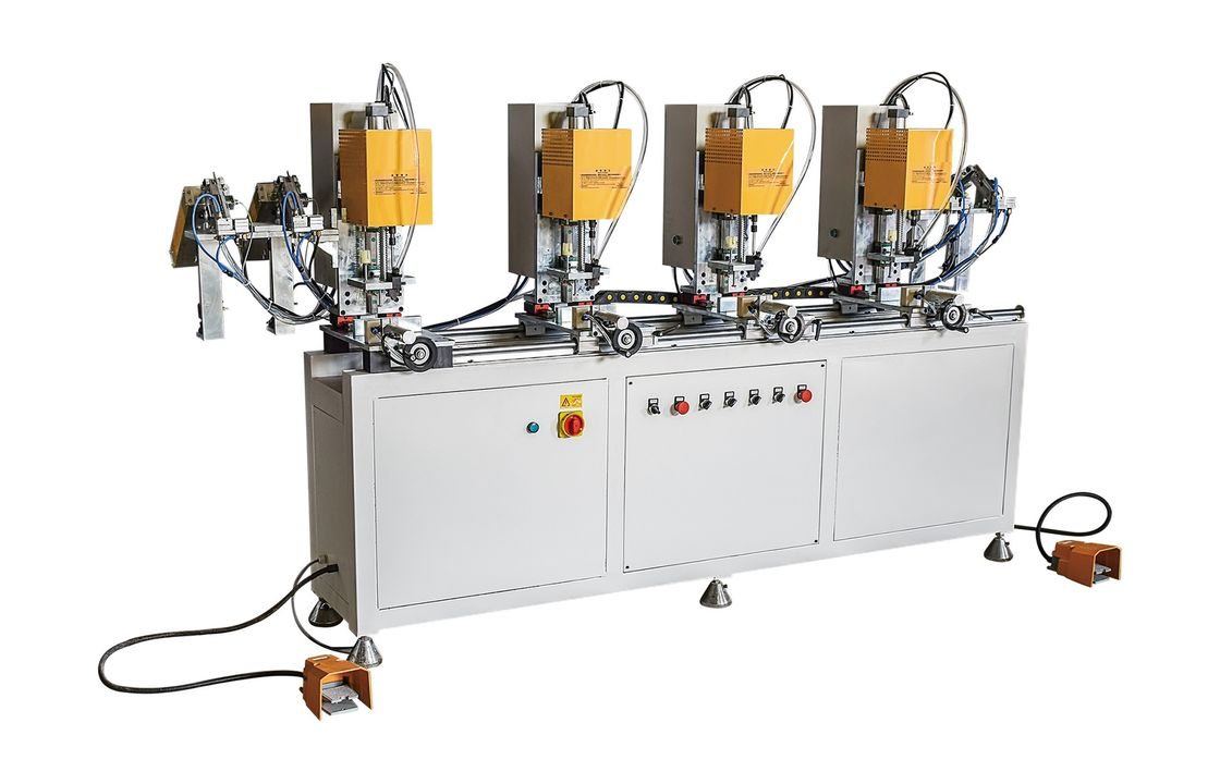 Automatic Upvc Welding Machine Plastic Profile Window Screw Fastening Machine 1KW