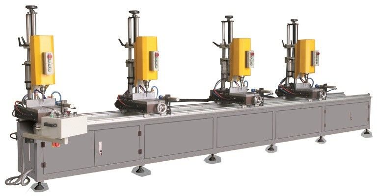 Multi-Head Drilling Machine for Windows and Doors /  Multi Head Aluminum Copy-Routing Drilling Machine