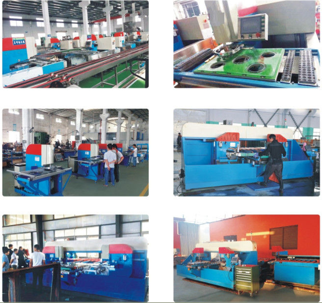 Fence Automatic Vertical Glass Drilling Machine With 2 Drilling Heads
