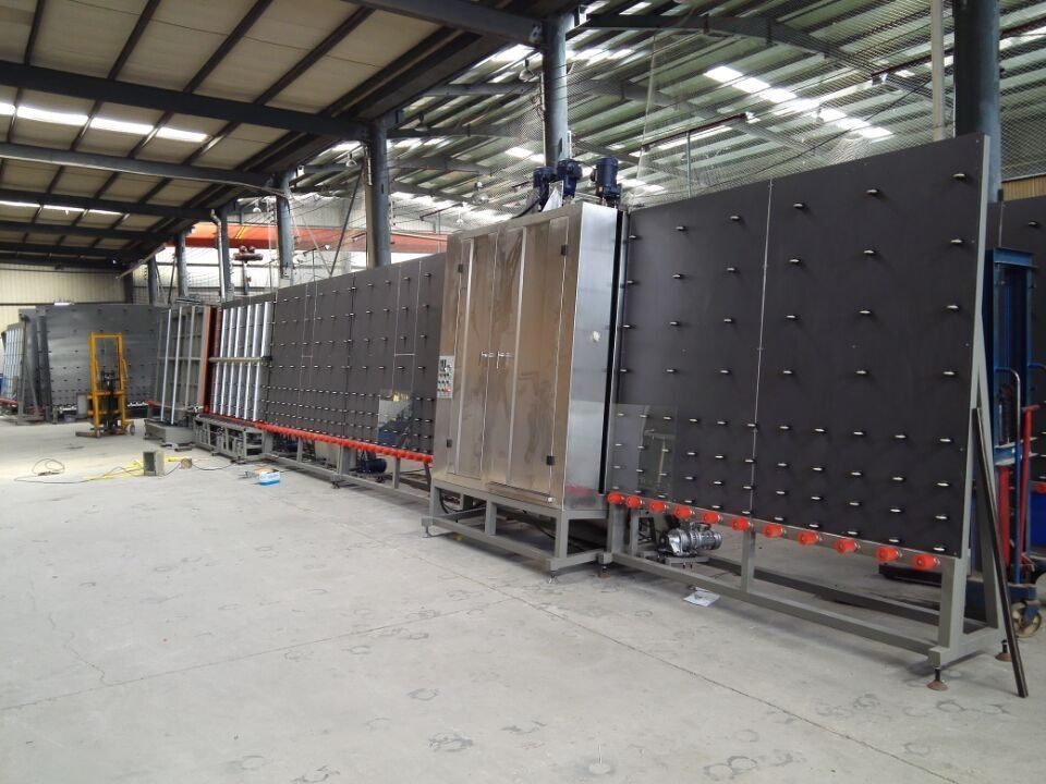 Auto Insulating Glass Production Line,double glazing glass machine,Insulating Glass Machine,Double Glazing Machine