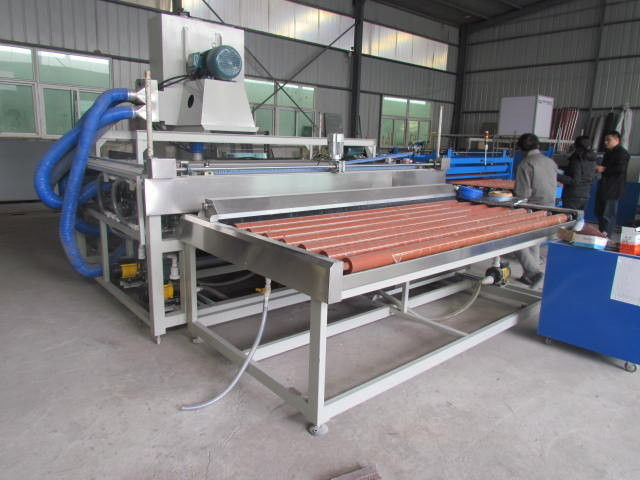 High Speed Horizontal Double Glazing Machinery Low – E Glass Washing
