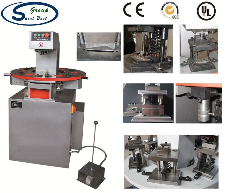 Single Position Die Aluminium Window Machinery For Punching Process