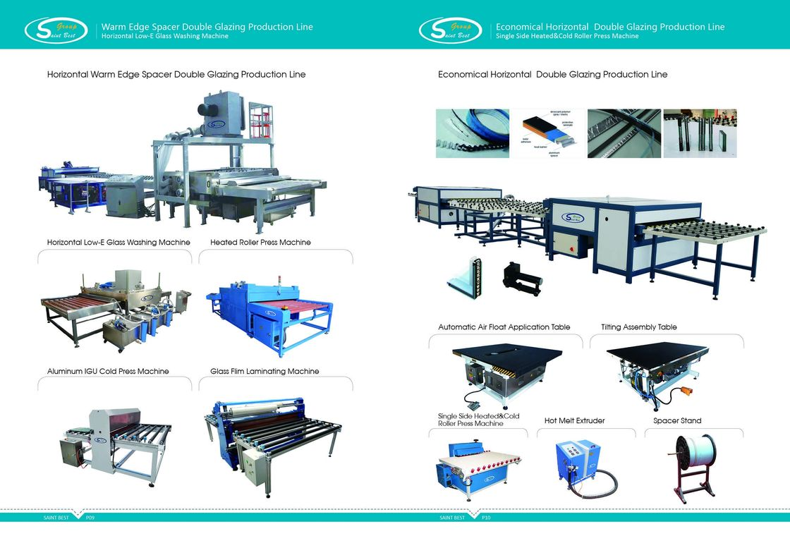 High Speed Horizontal Insulating Glass Production Line Warm Edge Spacer,Horizontal Warm Edge Spacer Production Line