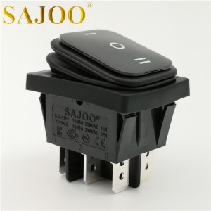 Best quality UL 25A Waterproof rocker switch SJ3-2 (P)