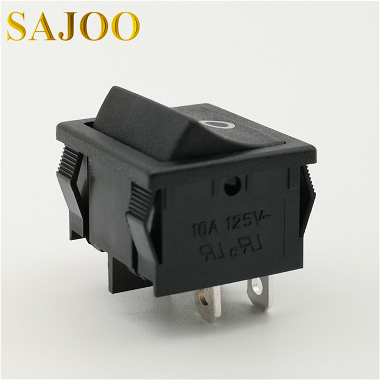 SAJOO 16A T125 4Pin high quality high current rocker switch SJ2-2 Featured Image