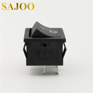 SAJOO 16A T125 4Pin high quality high current rocker switch SJ2-2
