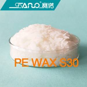 High melting point polyethylene wax