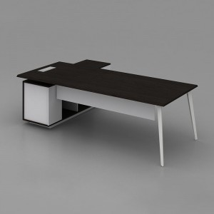 SAOSEN/ATWORK Manager table/ office desk/nordic design with powder coated MDF finishing