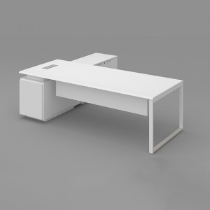 SAOSEN/ATWORK Manager table/ Office Executive Desk/Nordic design with powder coated MDF finishing