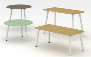 Neofront occasional table/tea table/coffee table/ office table with powder coated