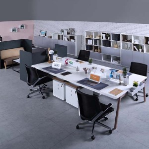 Neofront 4persons workstations/ staff system/ staff bench/office tables