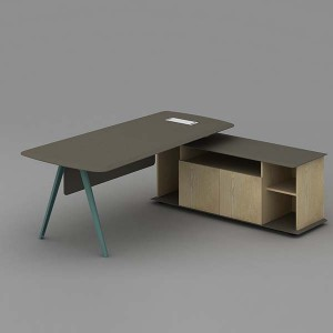 Neofront manager table/ office desk with powder coated finishing/ italian design office furniture with good quality