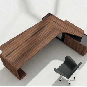 Factory Supply Foshan Modern Office Table Folding Conference Table Desk Wooden Office Furniture