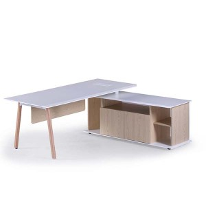 Neofront manager office table with modern style/ office desk with powder coated MDF nice quality