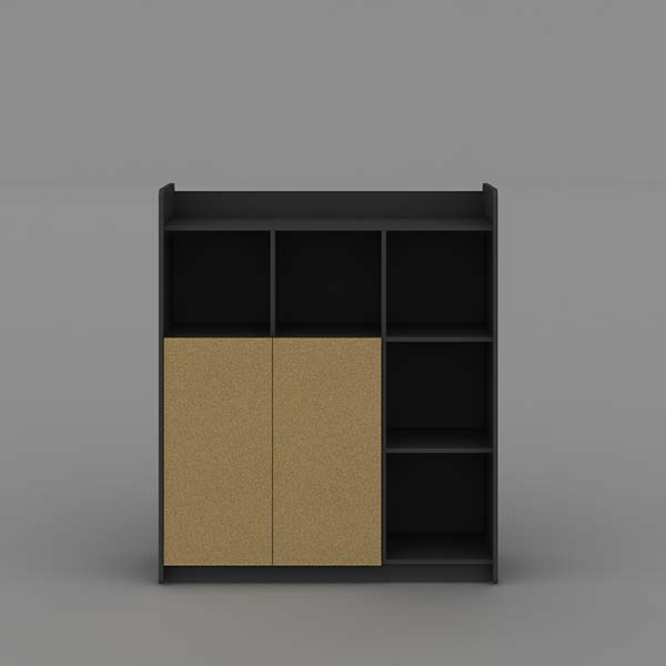 2017 Latest Design Modern Wood Bookcase -
