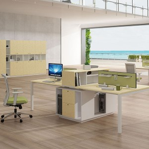 Atwork open office space / 4-zits werkstations / Bench / personeel workstation