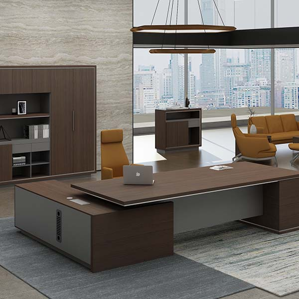 Discount Price Modern White Desk Workstation -