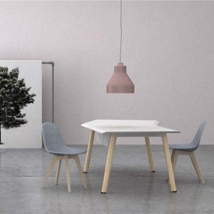 Neofront Manager table/ office desk/nordic design with powder coated finishing