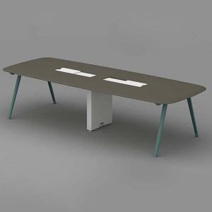 Neofront Conference & Meeting Tables-NEO with powder coated finishing
