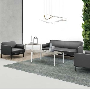 Saosen office furniture/ discussing room/modern style office sofa/leather and PU finishing