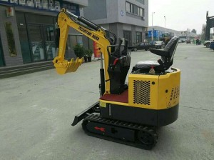 1.5 ton full hydraulic crawler mini excavator