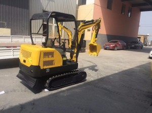 20ton Crawler excavator China JFDL-200 mini crawler excavator for sale