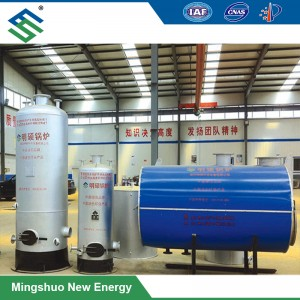 High Thermal Efficiency Biogas Boiler for Water Heating