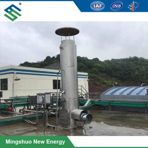 Biogas Torch for Environmental Protection and Biogas Engineering