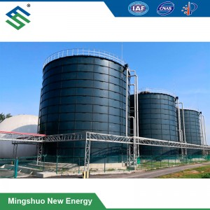 Biogas Anaerobic Digester for Winery Waste Treatment