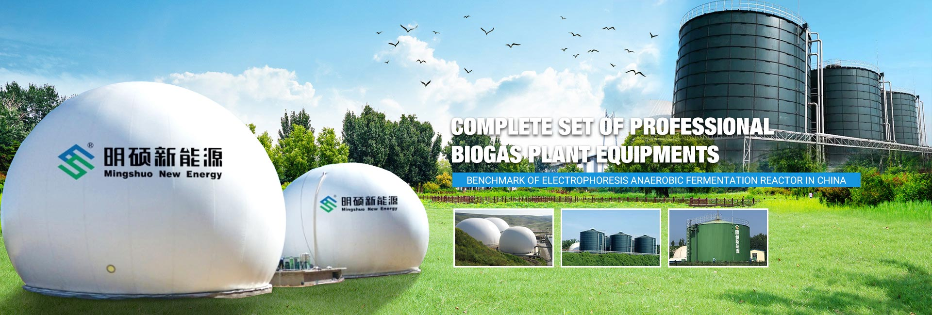 Complete Set of Professional Biogas Plant Equipments