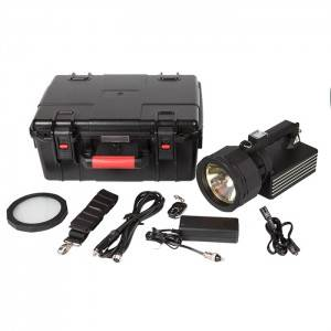 100W high-power HID searchlight beam distance 3KM portable military strong light searchlight