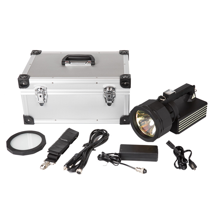 35/70W adjustable HID strong light searchlight, beam distance 1.5KM, portable outdoor hunting spotlight Featured Image